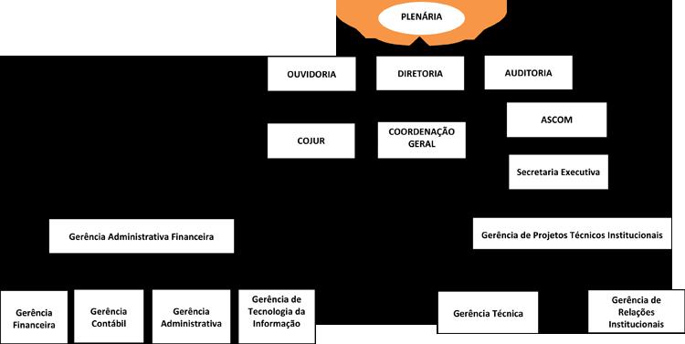 Organograma do Conselho Federal de Psicologia